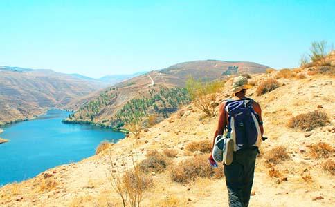 Jordan Trail   202-Khirbet Al Souq to King Talal Dam