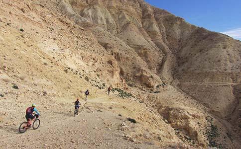 Jordan Trail | 304- Oyoun Al Theeb to Wadi Zarqa Main