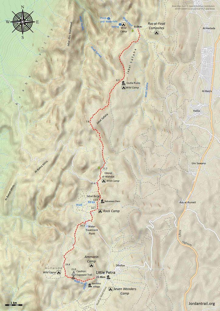 Jordan Trail 3 Ras Al Feid To Little Petra