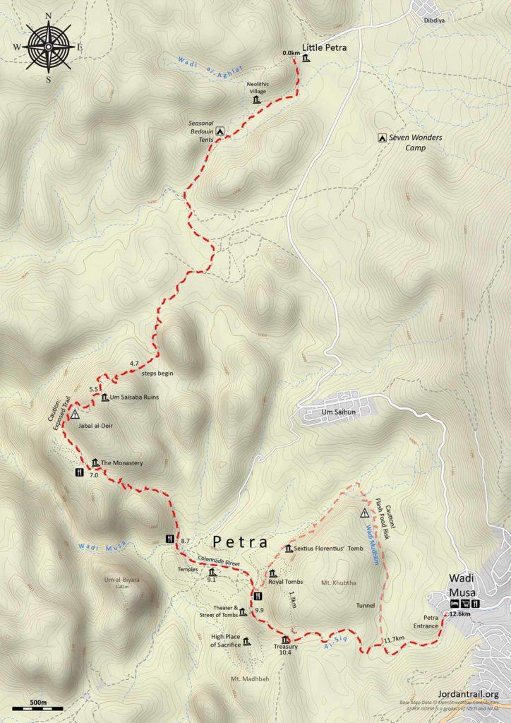 Jordan Trail 4 Little Petra To Petra